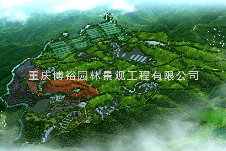 梁平奇爽集团千亩柚生态园谋划设计