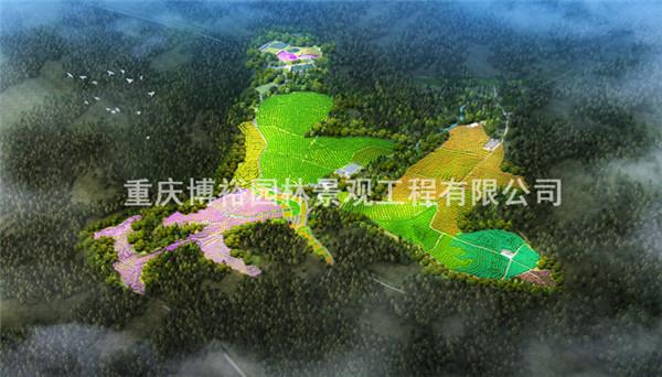 重庆五宝山康养生态园筹画设计