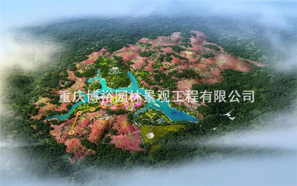 金沙县万亩玫瑰种植加工农业产业园概念策划设计