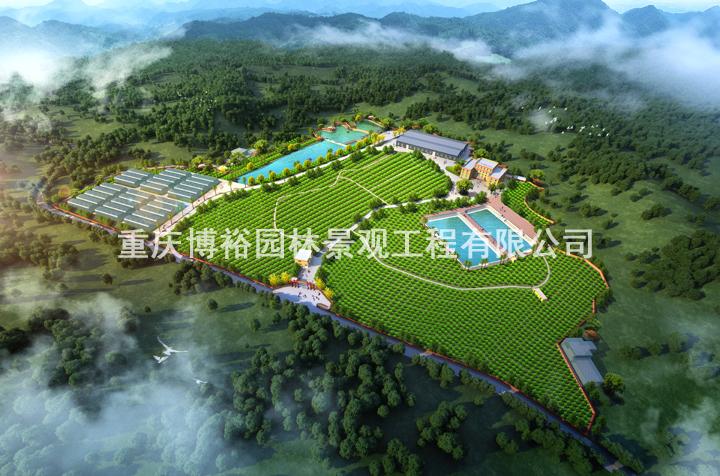 长寿区旺兴科技苗木培育基地谋划设计