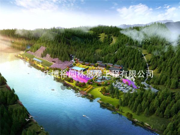 贵州沿河香树林生态园谋划设计