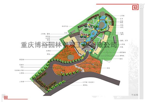 綦江古剑山庄景观设计