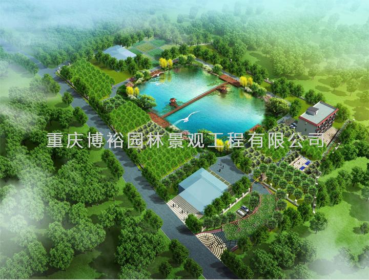 重庆市瑞金机械制造公司厂区景观设计