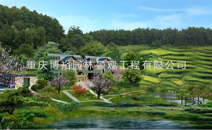 天星寺镇家庭农场观光休闲生态项目刻画设计